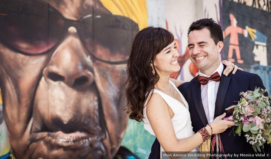 La boda de Cristian y Paula en Barcelona, Barcelona