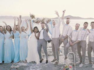 La boda de Amelia y Serge