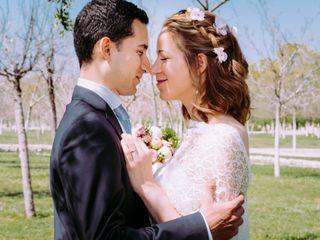 La boda de Cecile y Ahemd