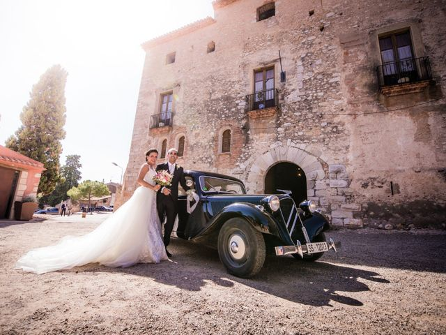 La boda de Andrés y Asun en El Rourell, Tarragona 126
