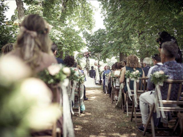 La boda de Raúl y Miriam en Santa Gadea Del Cid, Burgos 13