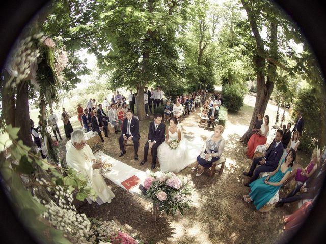 La boda de Raúl y Miriam en Santa Gadea Del Cid, Burgos 19