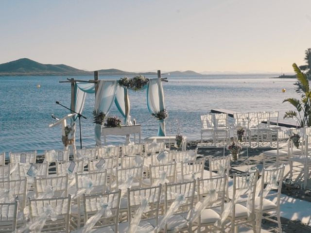 La boda de Serge y Amelia en La Manga Del Mar Menor, Murcia 6
