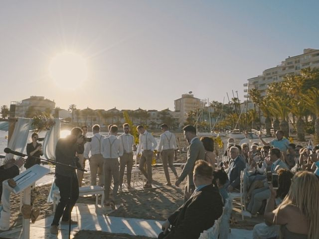La boda de Serge y Amelia en La Manga Del Mar Menor, Murcia 22