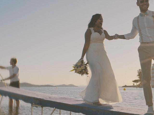 La boda de Serge y Amelia en La Manga Del Mar Menor, Murcia 36