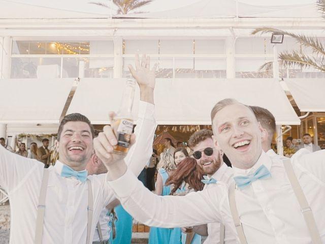 La boda de Serge y Amelia en La Manga Del Mar Menor, Murcia 38