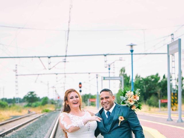 La boda de Sadiel y Ariadna en Carcastillo, Navarra 38