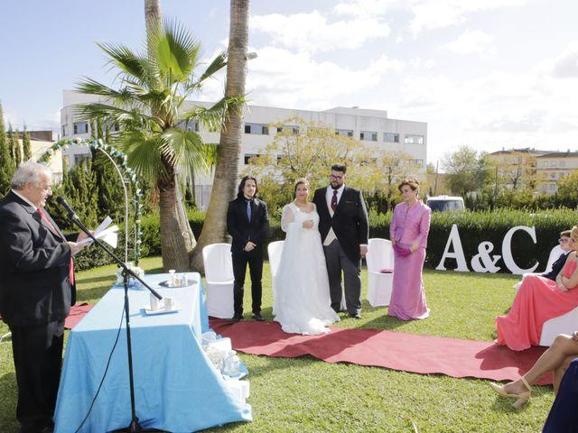 La boda de Clara y Antonio en Alcala Del Rio, Sevilla 11
