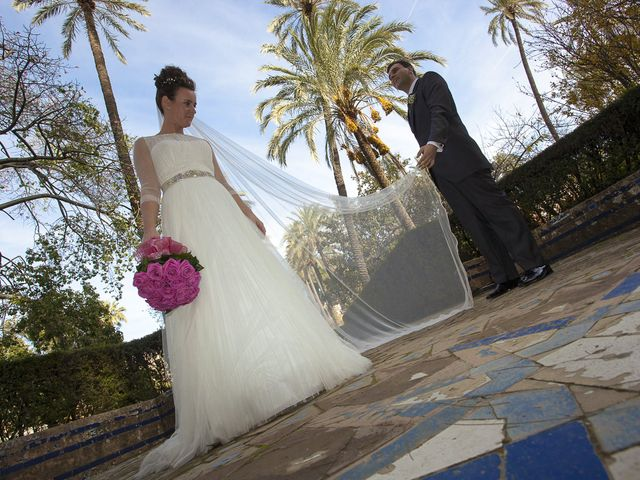 La boda de Rafael y Magdalena en Torre De La Reina, Sevilla 15