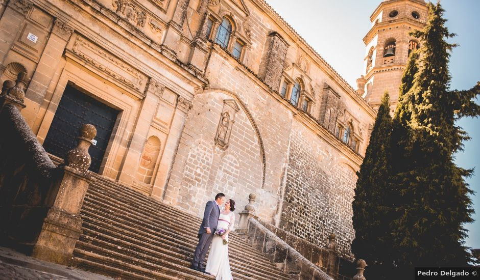 La boda de Juan y Luisa en Baeza, Jaén