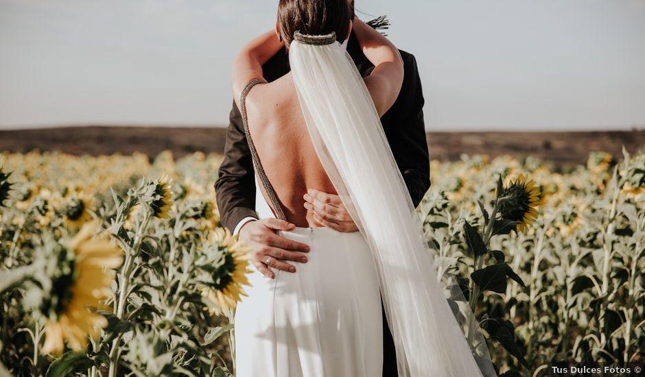 La boda de Fer y Gemma en Sotos De Sepulveda, Segovia