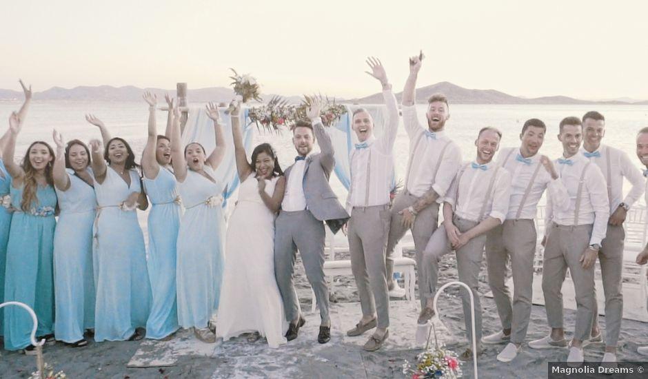 La boda de Serge y Amelia en La Manga Del Mar Menor, Murcia