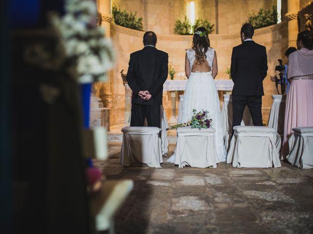 La boda de Kiko y Marta en Olmos De Ojeda, Palencia 28