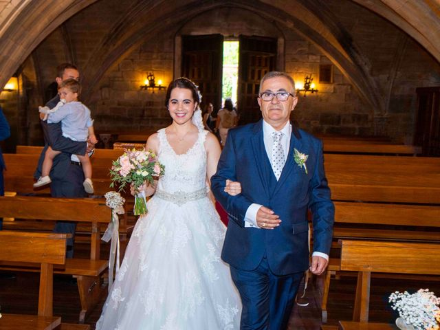 La boda de Ignacio y Gloria en Olite, Navarra 28