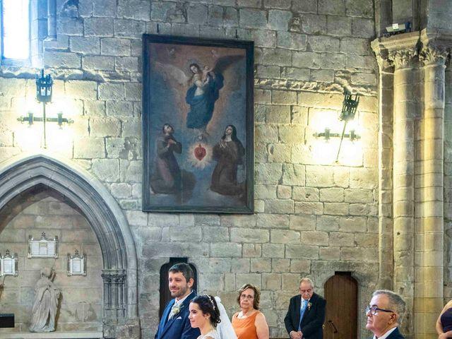 La boda de Ignacio y Gloria en Olite, Navarra 33