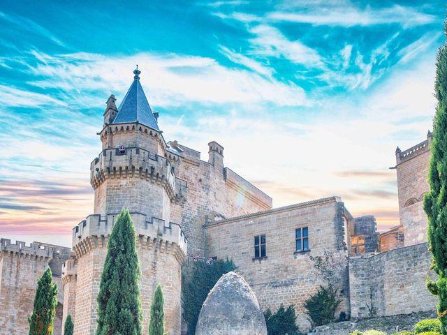 La boda de Ignacio y Gloria en Olite, Navarra 1