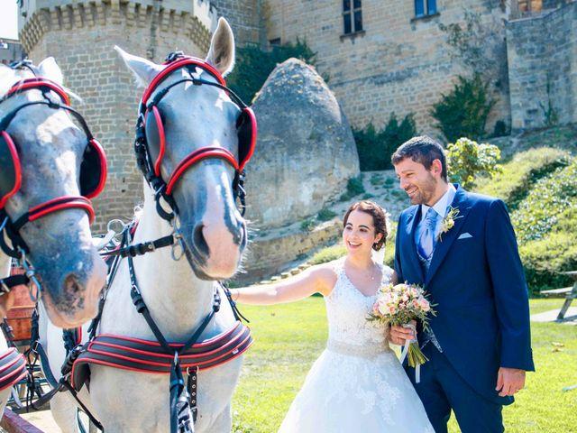 La boda de Ignacio y Gloria en Olite, Navarra 38