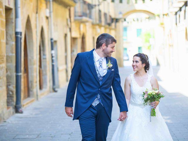 La boda de Ignacio y Gloria en Olite, Navarra 41