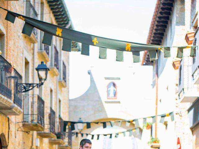 La boda de Ignacio y Gloria en Olite, Navarra 42