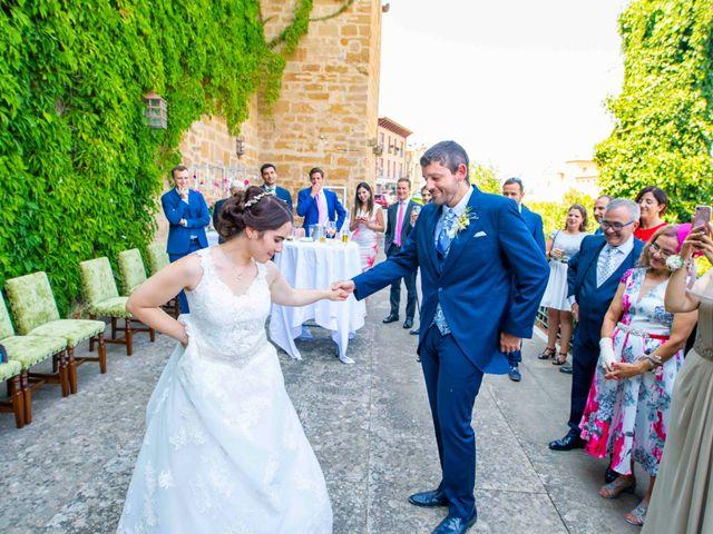 La boda de Ignacio y Gloria en Olite, Navarra 44