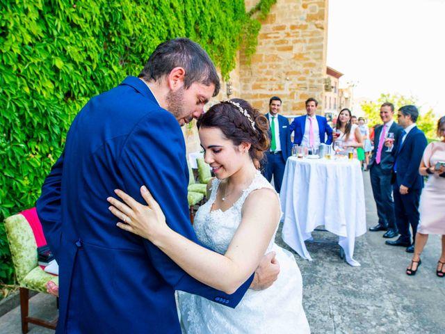 La boda de Ignacio y Gloria en Olite, Navarra 45