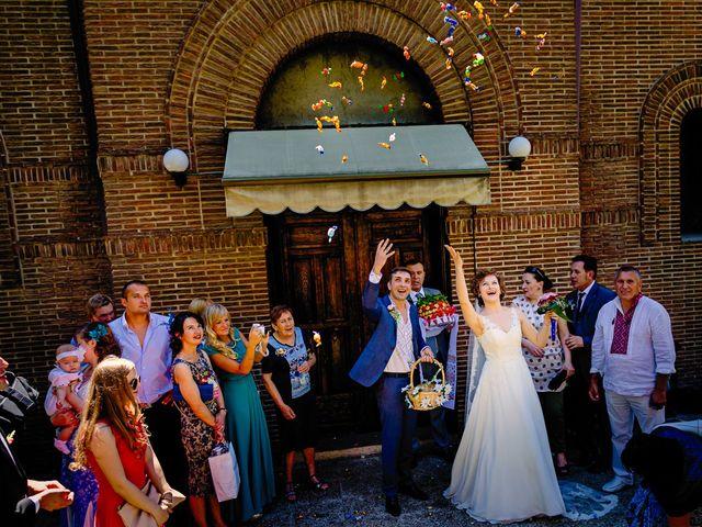 La boda de Sofiya y Andry en Madrid, Madrid 20