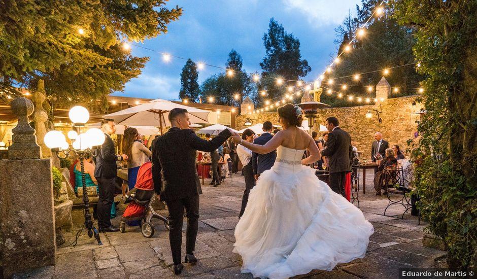 La boda de Adrián y Sonia en Vilaboa (Rutis), A Coruña