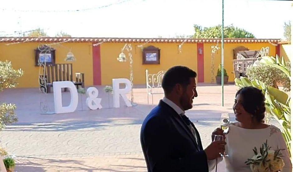 La boda de Diego y Rocío en Salvaleon, Badajoz