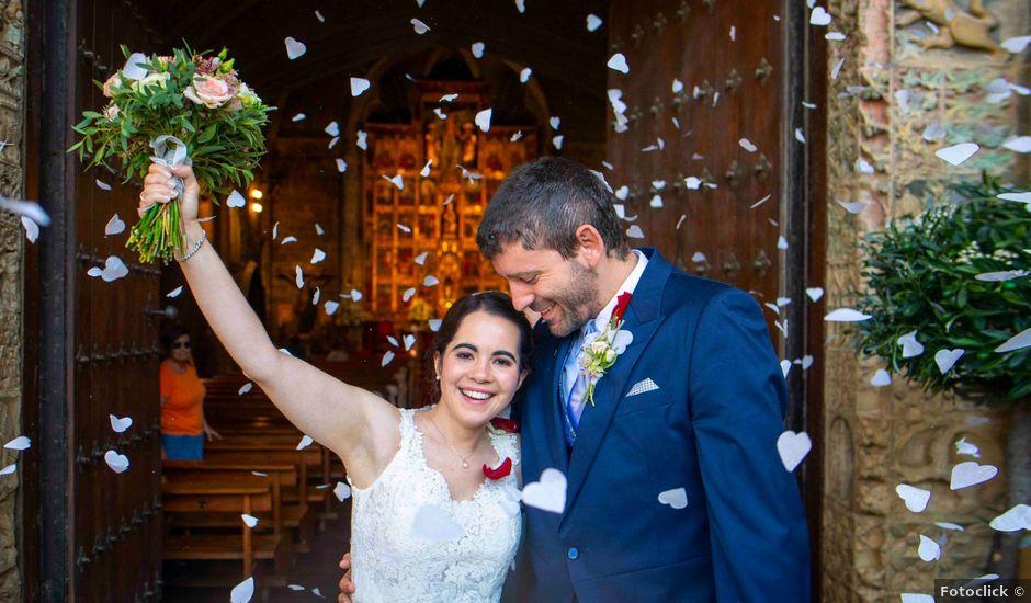 La boda de Ignacio y Gloria en Olite, Navarra