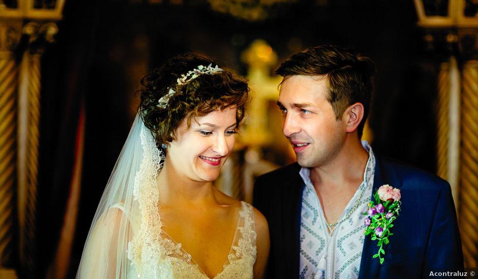 La boda de Sofiya y Andry en Madrid, Madrid