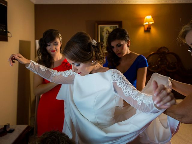 La boda de Iván y Alejandra en Zalamea De La Serena, Badajoz 13