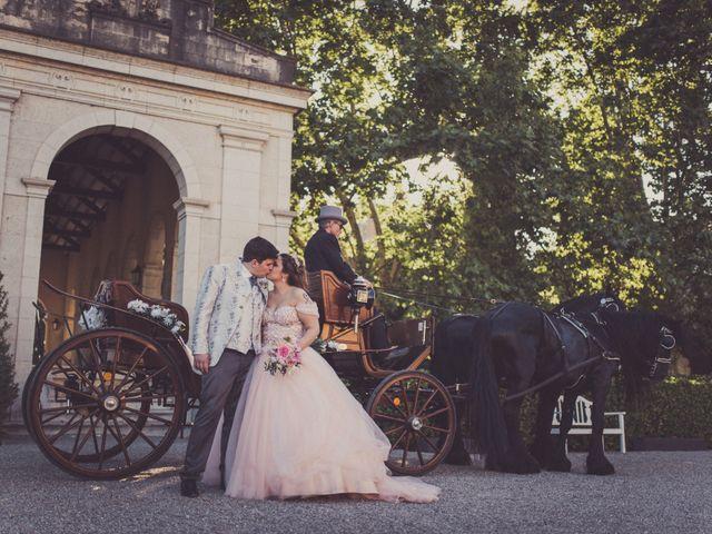 La boda de Xavi y Tamara en Peralada, Girona 1
