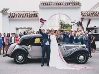 La boda de Miguel y Carmela