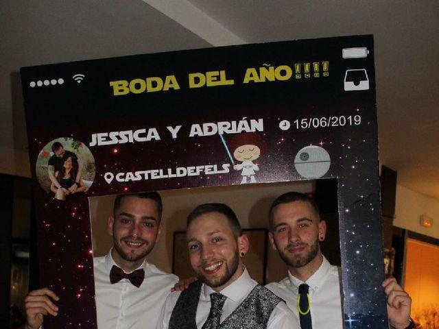 La boda de Adrian  y Yessica en Castelldefels, Barcelona 6