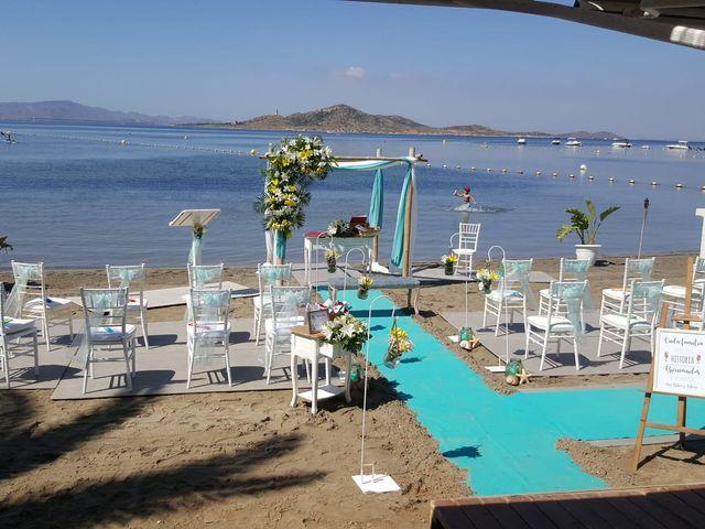 La boda de Antonio y Ana Belén en La Manga Del Mar Menor, Murcia 1