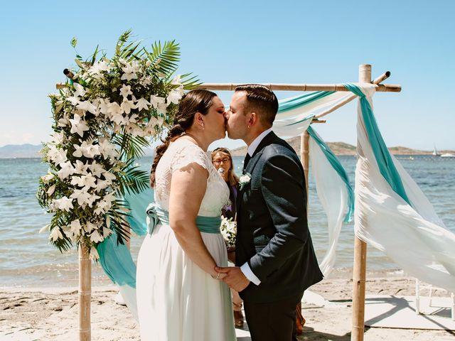 La boda de Antonio y Ana Belén en La Manga Del Mar Menor, Murcia 2