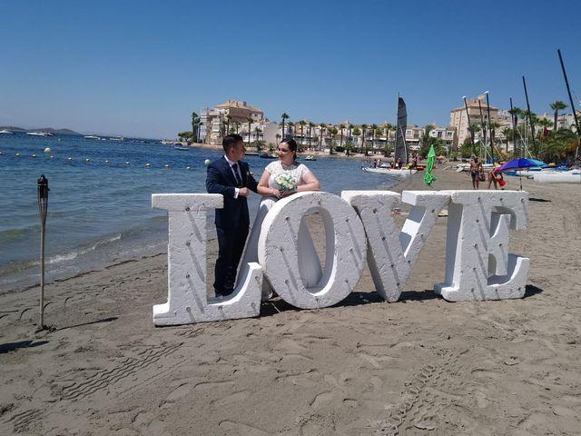 La boda de Antonio y Ana Belén en La Manga Del Mar Menor, Murcia 4
