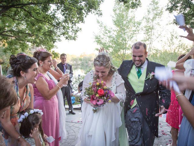 La boda de Mamen y Chema