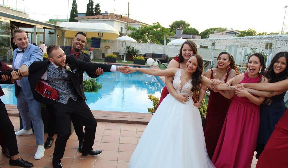 La boda de Adrian  y Yessica en Castelldefels, Barcelona