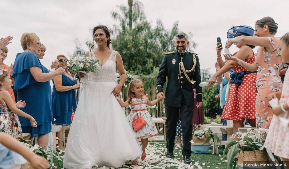 La boda de Adrián y Macu en La Orotava, Santa Cruz de Tenerife