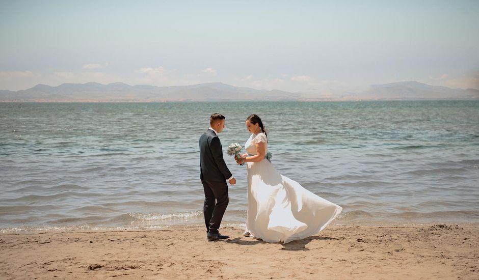 La boda de Antonio y Ana Belén en La Manga Del Mar Menor, Murcia