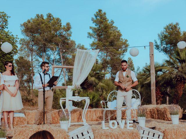 La boda de Javier y Jessica en Olivella, Barcelona 23
