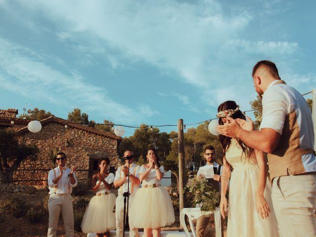 La boda de Javier y Jessica en Olivella, Barcelona 30