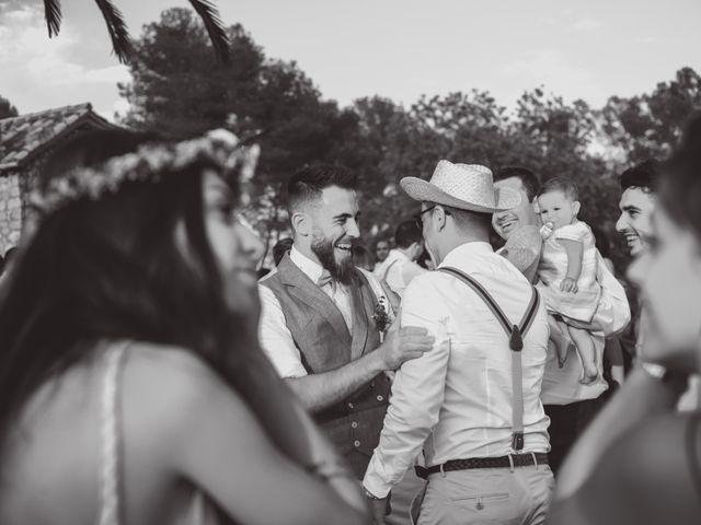 La boda de Javier y Jessica en Olivella, Barcelona 35