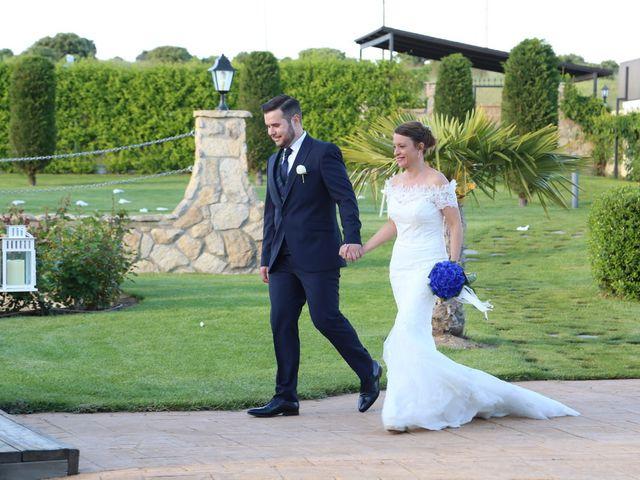 La boda de Alvaro y Sandra en Mozarbez, Salamanca 1