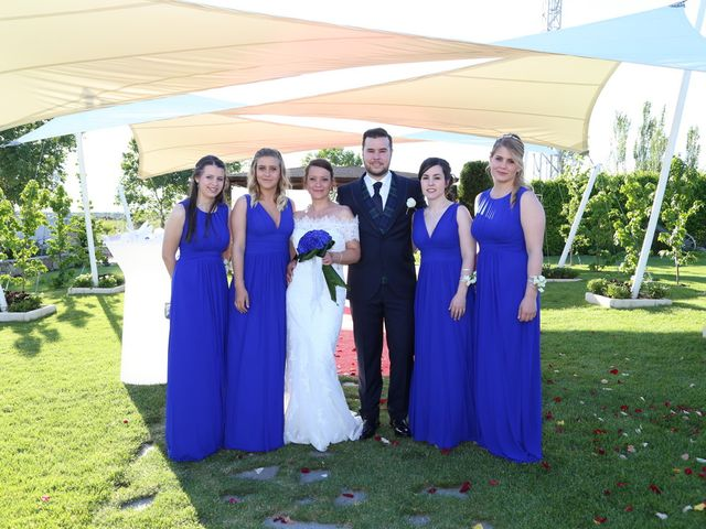 La boda de Alvaro y Sandra en Mozarbez, Salamanca 7