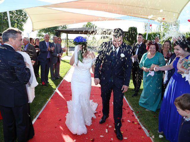La boda de Alvaro y Sandra en Mozarbez, Salamanca 10