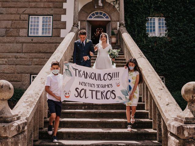 La boda de David y Sara en Serra De Outes, A Coruña 101