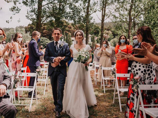 La boda de David y Sara en Serra De Outes, A Coruña 106