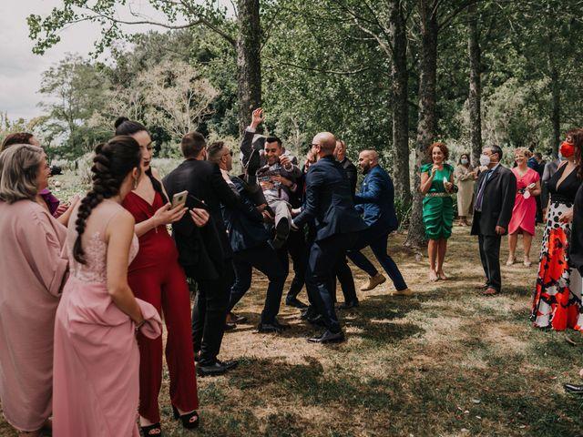 La boda de David y Sara en Serra De Outes, A Coruña 149